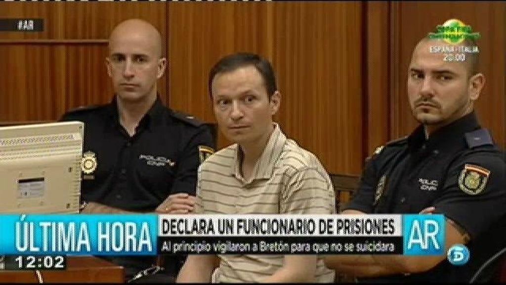 Un funcionario de prisiones explica que Bretón no se autolesionó, que fue un arañazo