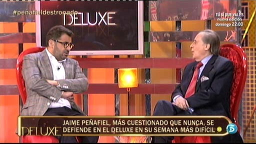 """Jorge Javier, a Peñafiel: """"Estás siempre con la escopeta cargada"""""""