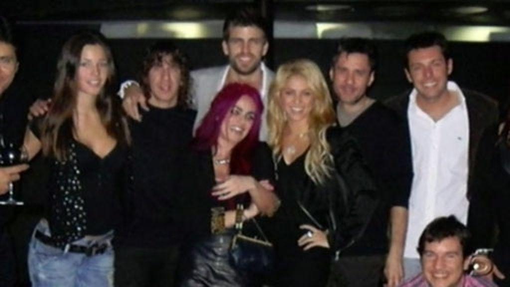 Piqué y Shakira, juntos