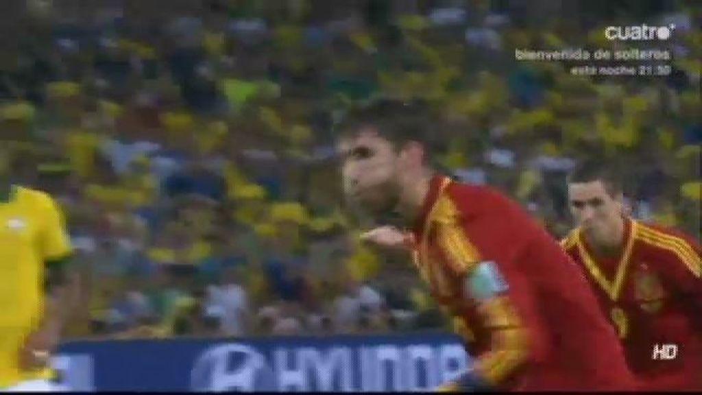 A Sergio Ramos le sobra casta