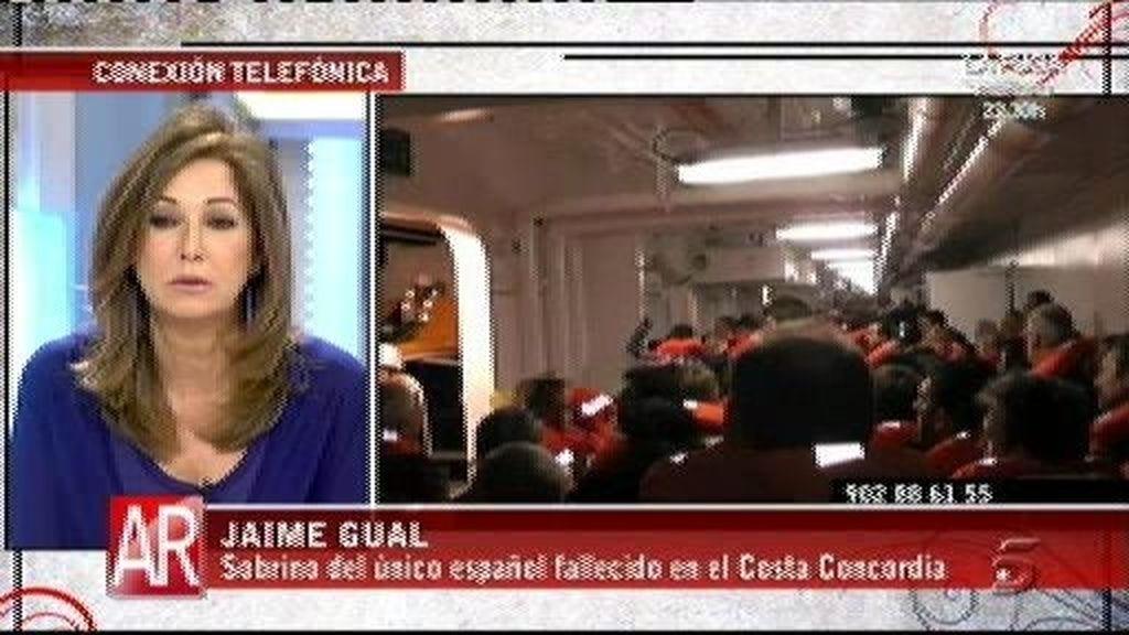 El sobrino del único español fallecido ha asegurado que a su tío le sacaron del bote