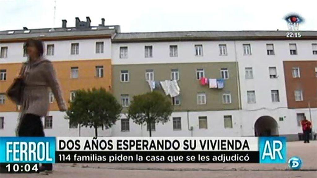 El Ayuntamiento de Ferrol ha entregado 2 de las 116 viviendas sociales