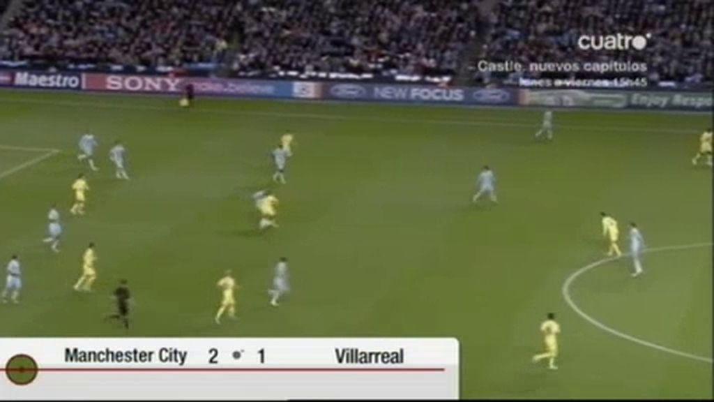 Manchester City 2 - 1 Villarreal