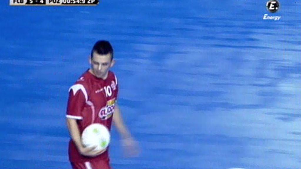 Gol de Alex (Barcelona 5-5 ElPozo)