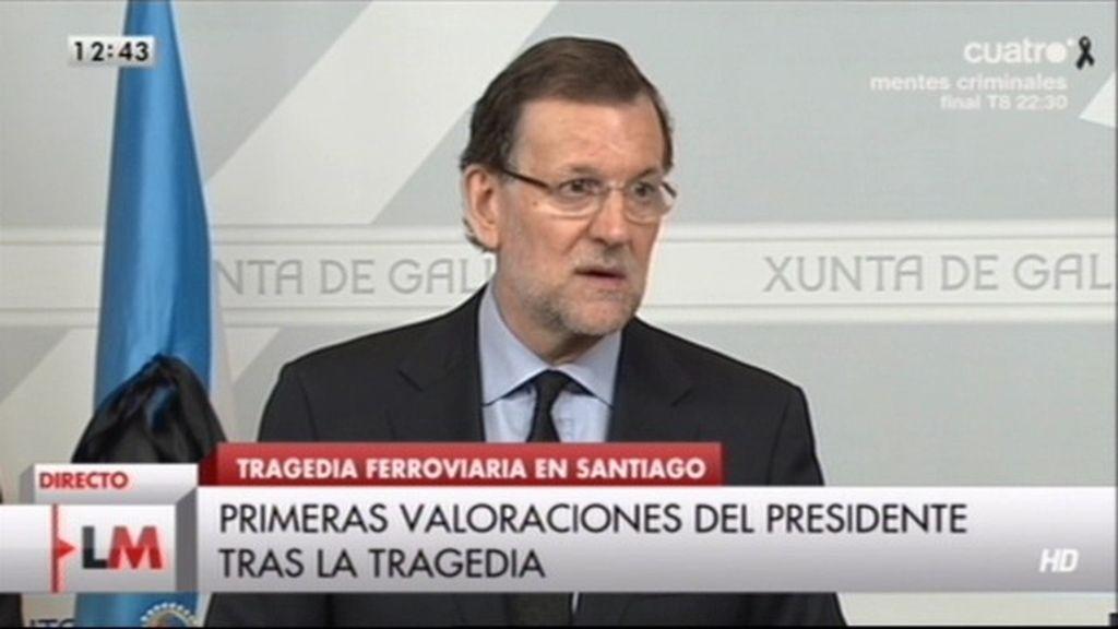"""Mariano Rajoy: """"Es el día del Apostol más triste de mi vida"""""""