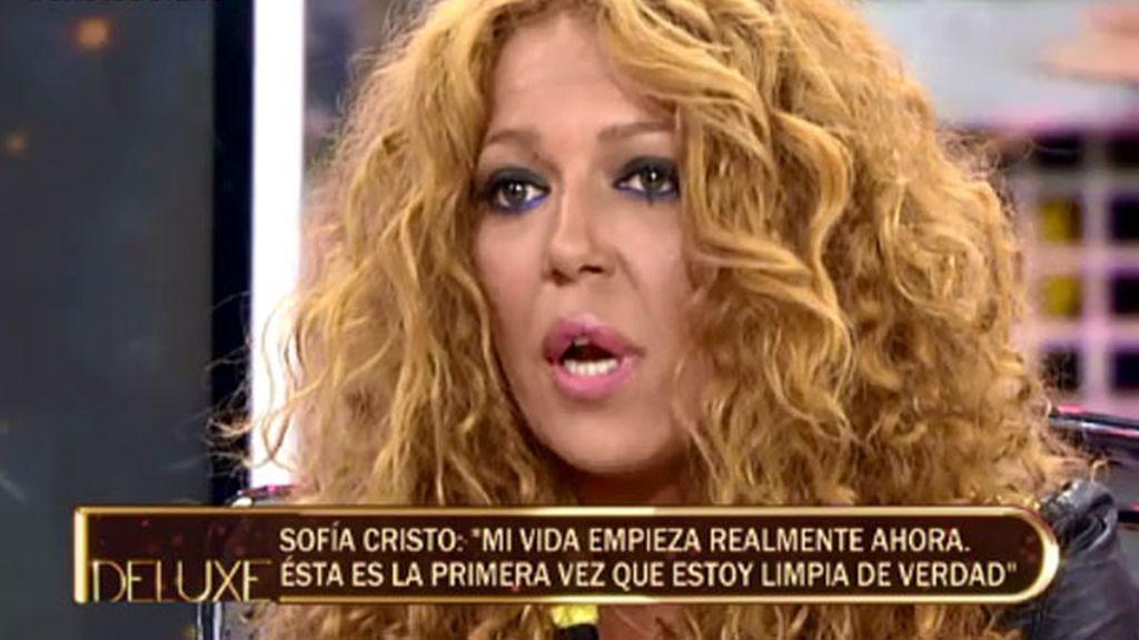 """Sofía Cristo: """"Llevo 80 días sin consumir"""""""