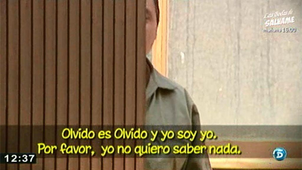 El marido de Olvido Hormigos no opina sobre los rumores que relacionan a su mujer con Hugo Castejón