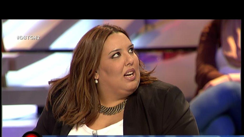 """Lorena: """"Quiero mucho a Juan Carlos"""""""