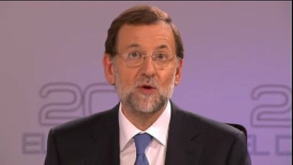 """Mariano Rajoy: """"Será difícil salir... pero se puede hacer"""""""