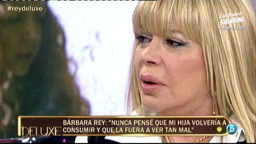 """Bárbara Rey: """"Mi hija es drogadicta y lo será toda su vida"""""""
