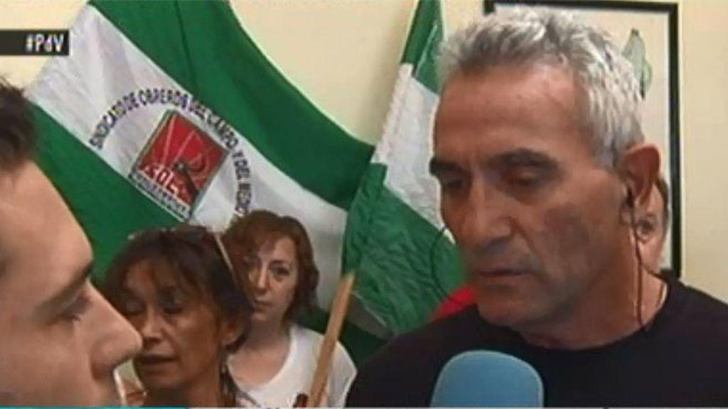Diego Cañamero, el líder sindicalista, a punto de ir a prisión