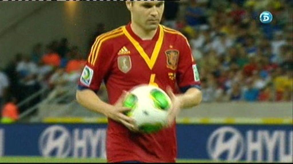 España 2-2 Italia (penalti de Iniesta)