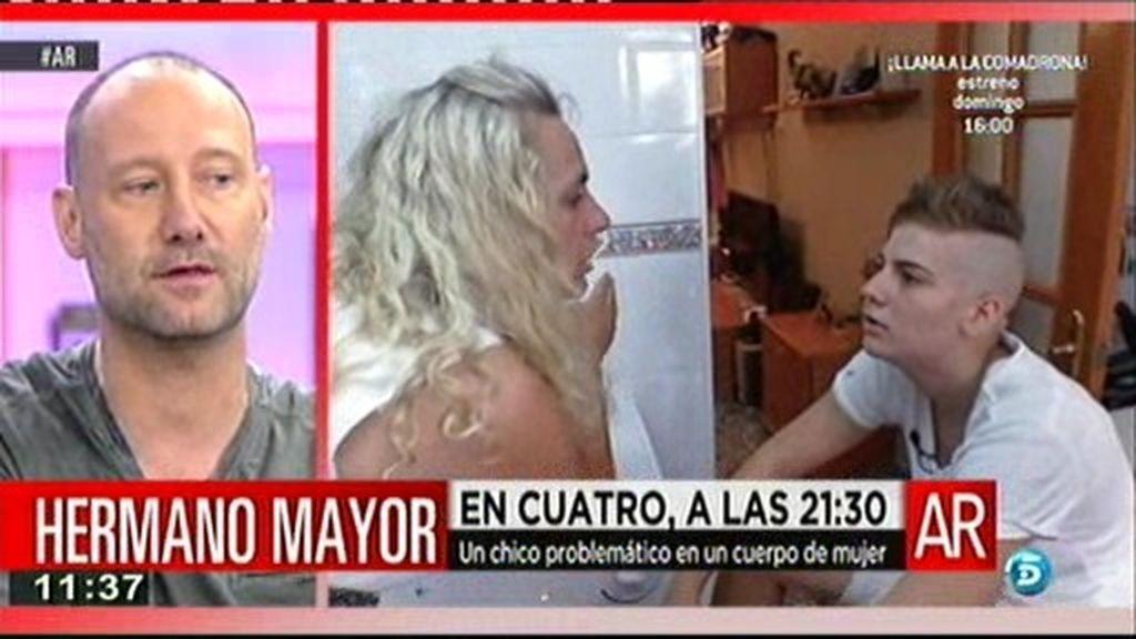 """Pedro G. Aguado: """"Con Keke se producen situaciones muy violentas, incluso llega a morder a su padre"""""""