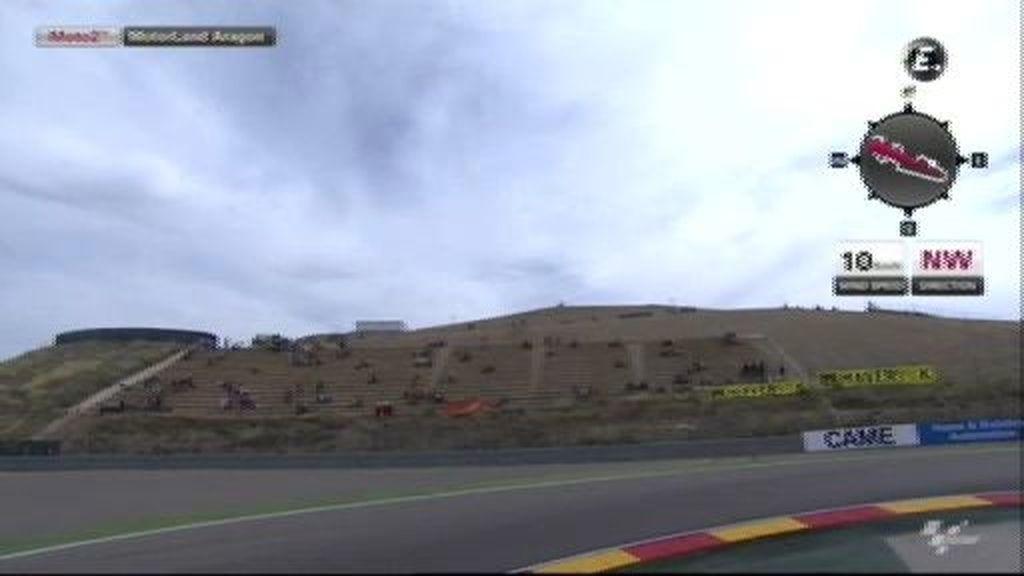 La FP2 de Moto2 en Aragón, a la carta