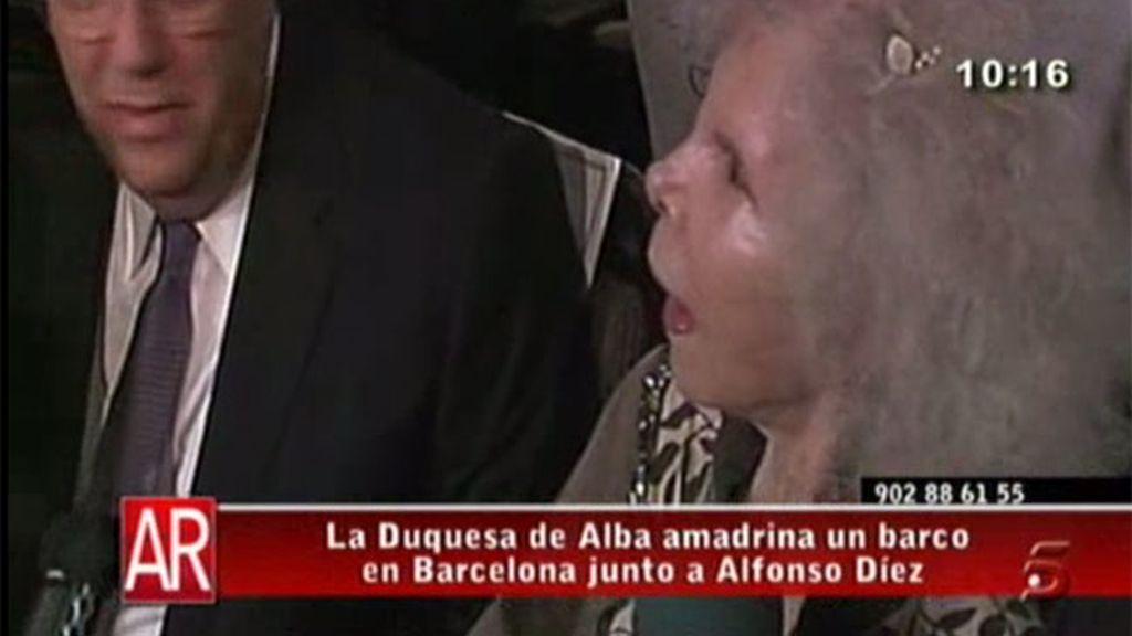 La Duquesa vacaciones con Alfonso