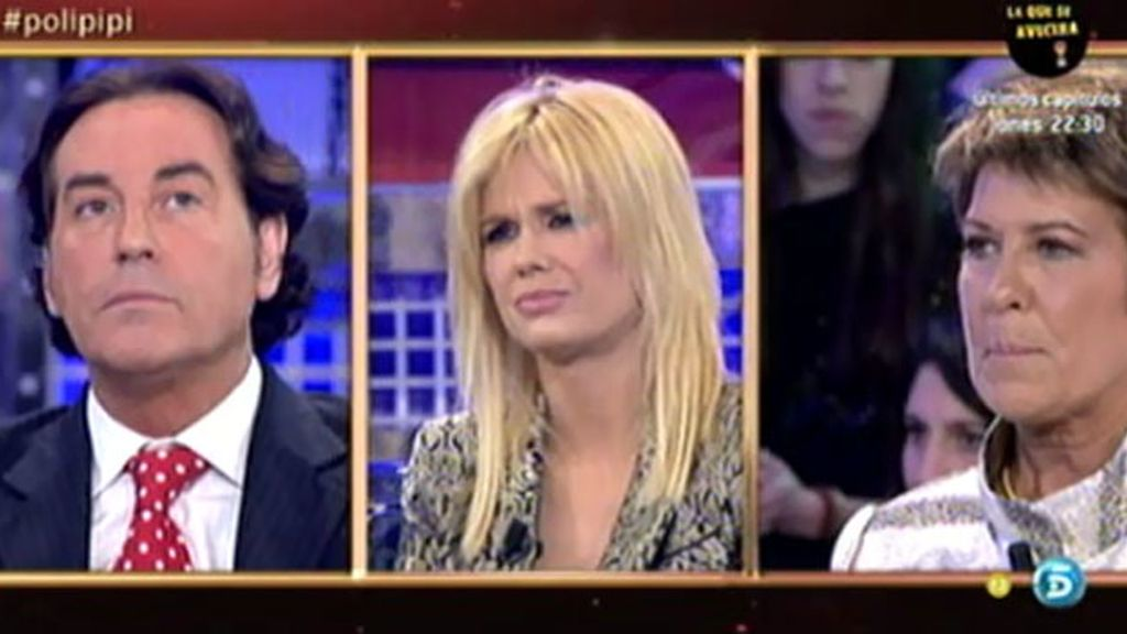 Pipi ha amenazado a Miriam con quitarle la custodia de la niña