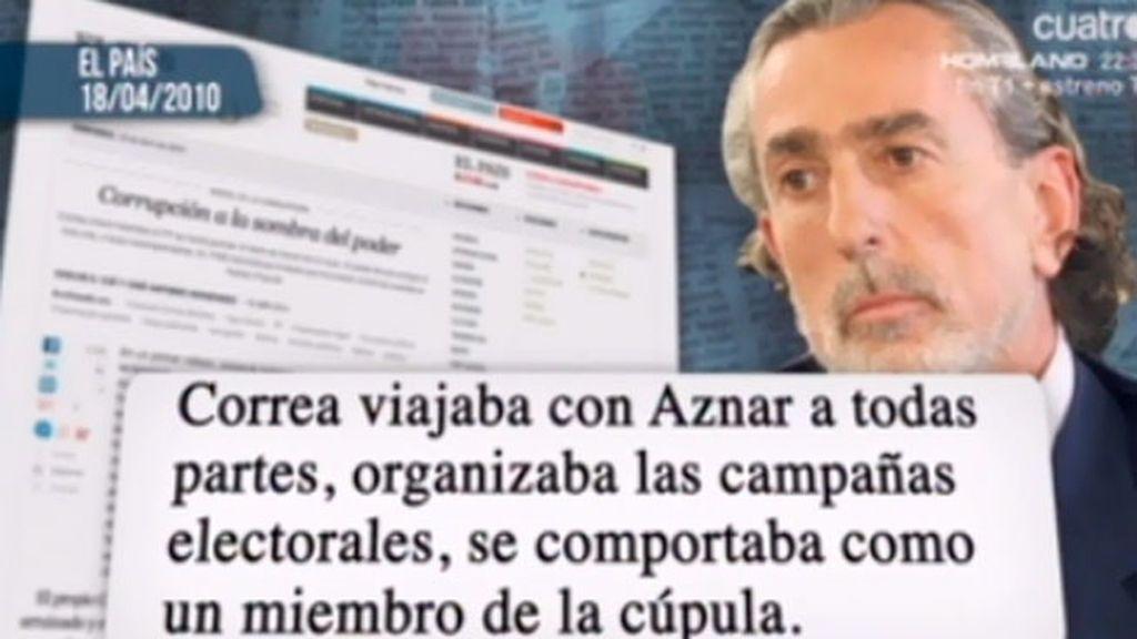 Los episodios oscuros de Aznar