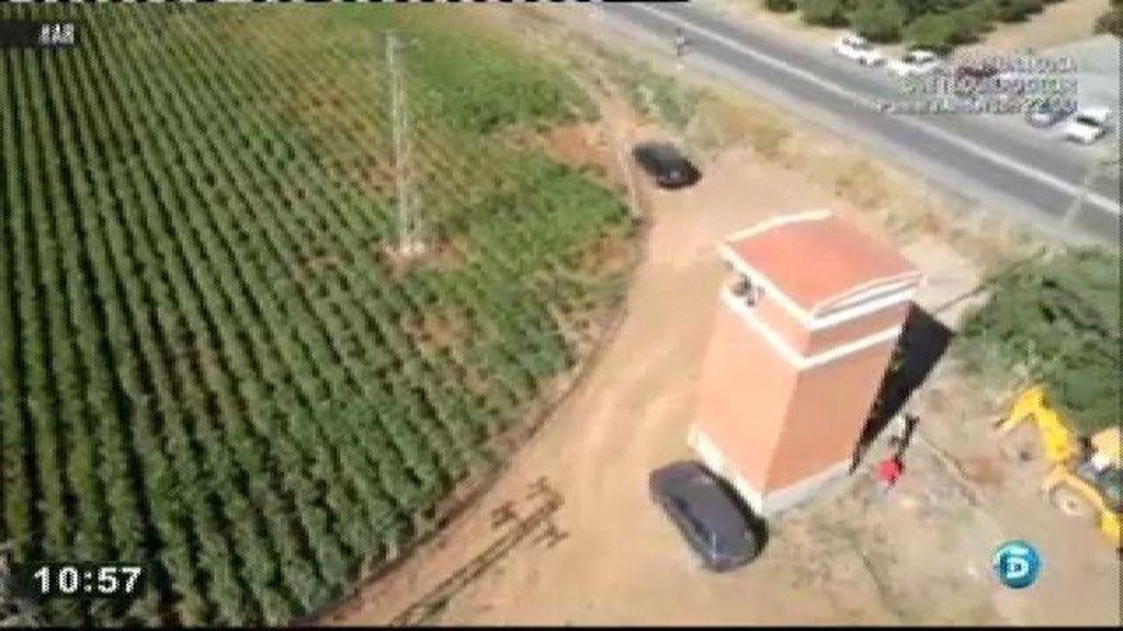 La policia busca el cuerpo de Marta en siete puntos claves marcados por el georradar