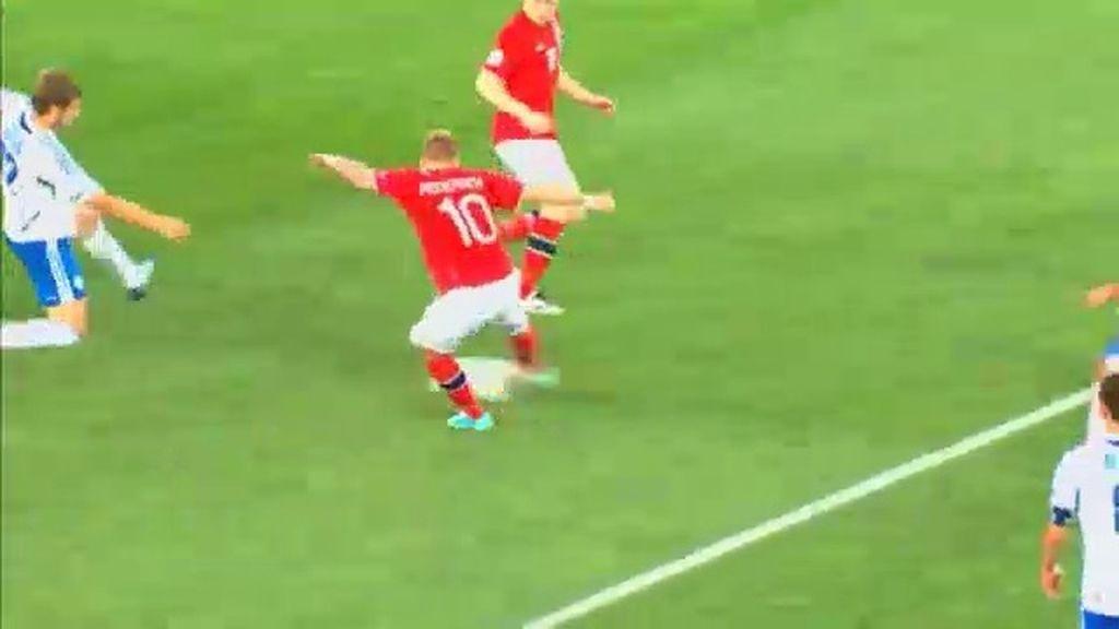 Gol: Israel 1 - 1 Noruega (min. 24)