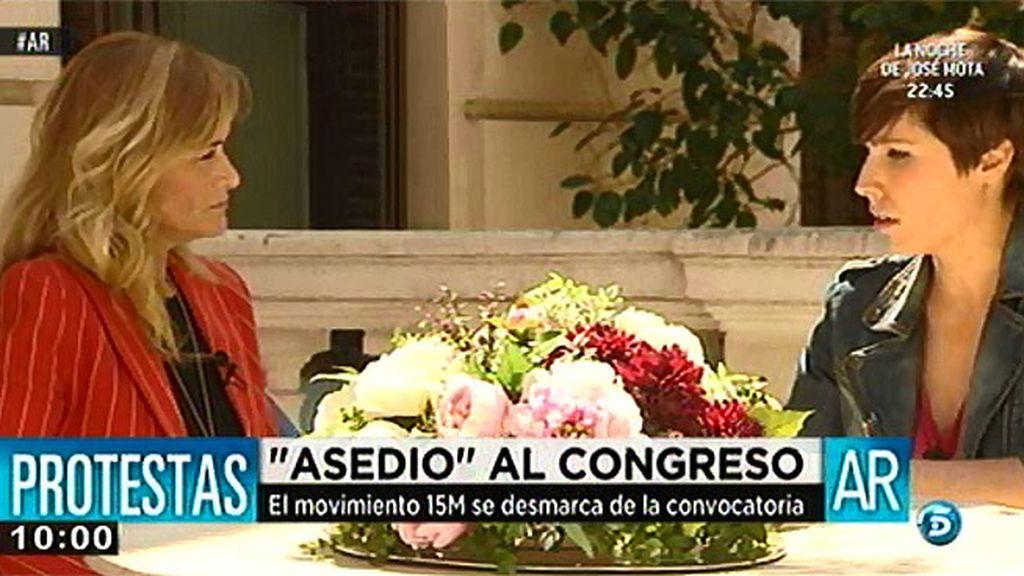 "Cristina Cifuentes: ""Si los escraches se notificaran serían legales"""