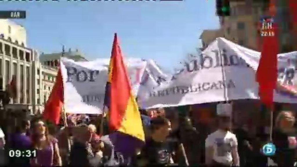 Marchas en favor de la III República