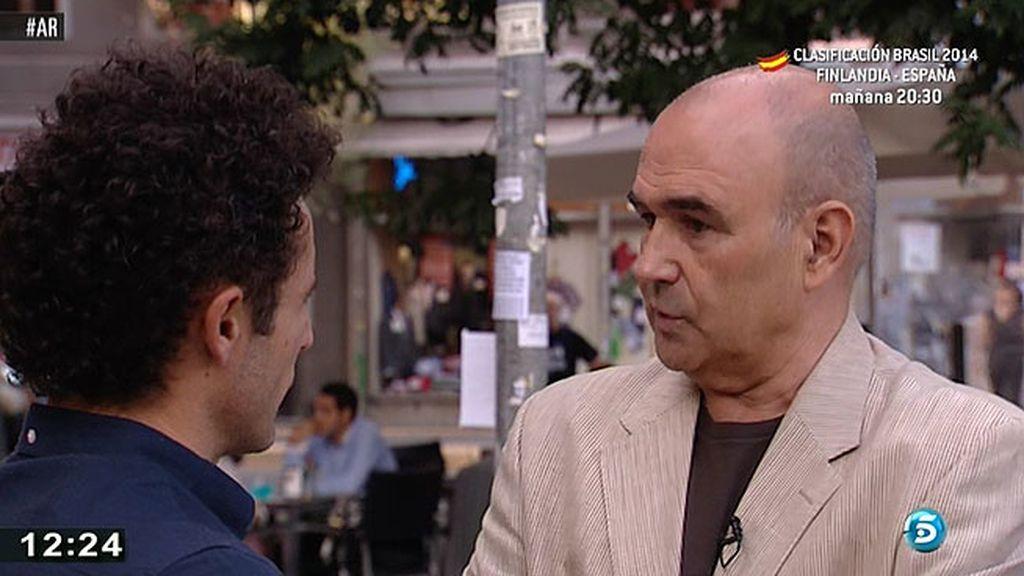 """Manuel Redal, auditor: """"Uno de cada cuatro euros permanece oculto al fisco"""""""