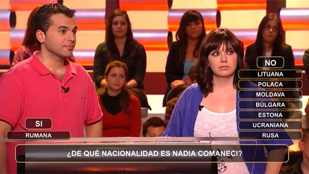 ¿De qué nacionalidad es Nadia Comaneci?