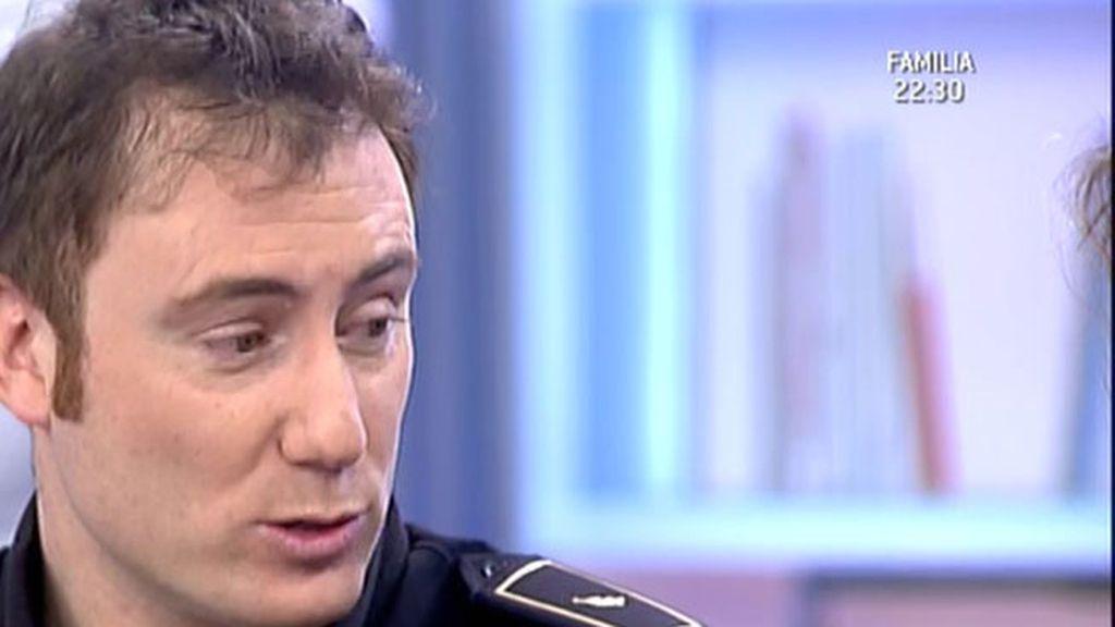 Rubén, el héroe de la Policía Nacional