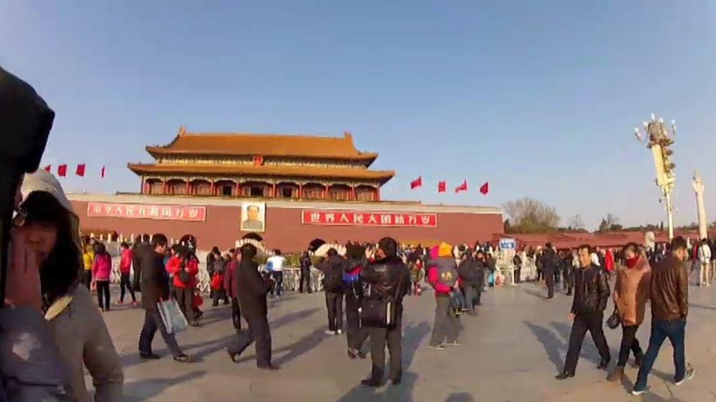 Prohibida al entrada a Tiananmen