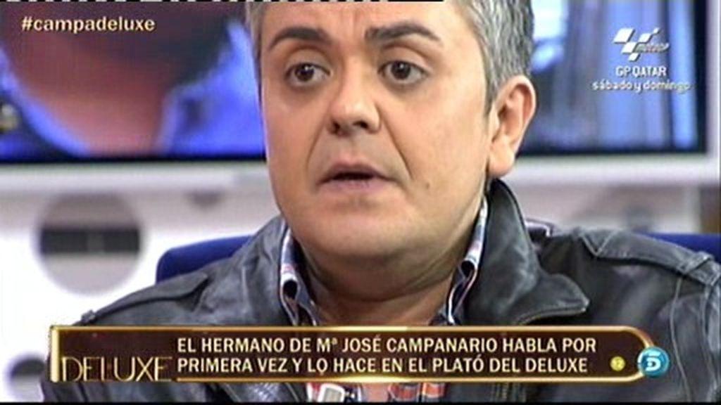 """Diego Campanario: """"A mi hermana no le gusta que esté en El Deluxe"""""""