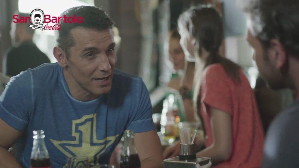 Jesús Vázquez protagoniza la campaña de 'Benditos Bares' de Coca-Cola