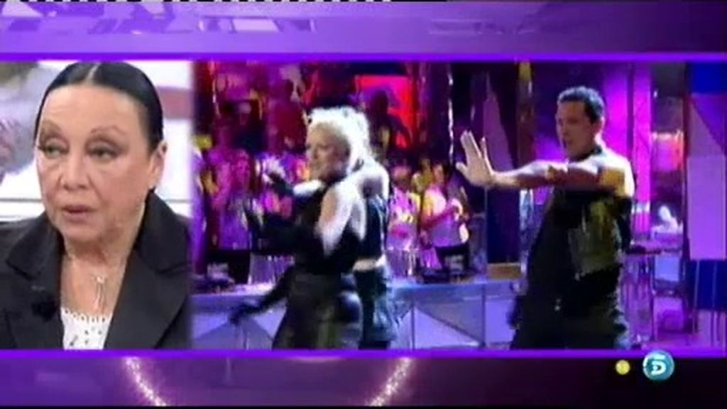 El hijo de Betty bailó en 'Sálvame'