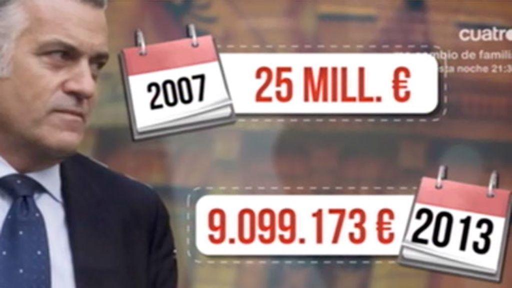 'TVAE' desvela, en exclusiva, la cantidad que tiene Bárcenas en el Lombard Odier