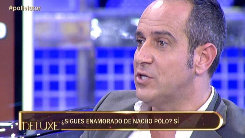 Víctor Sandoval se considera un mendigo del amor de Nacho Polo