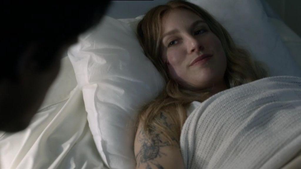 """Maggie, a Hal: """"¿Puedes quedarte hasta que me duerma? """""""