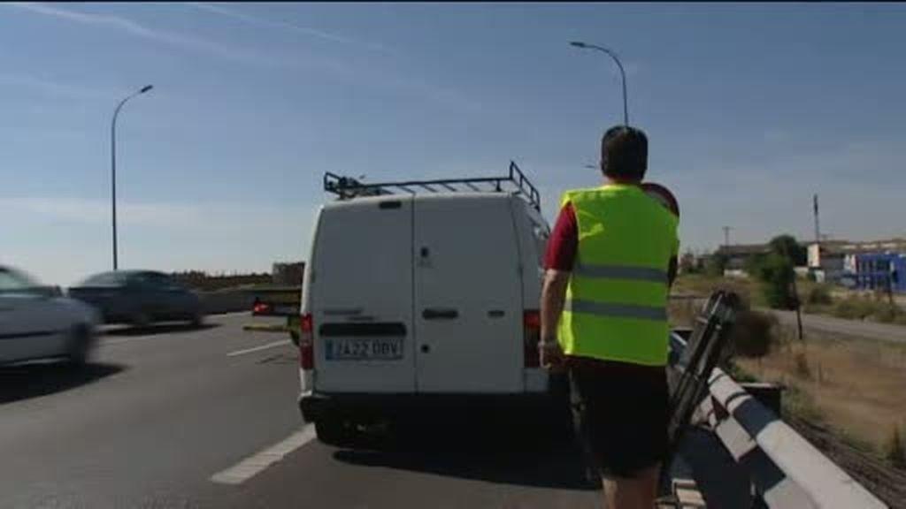 Asistencia en carreteras, un 35%