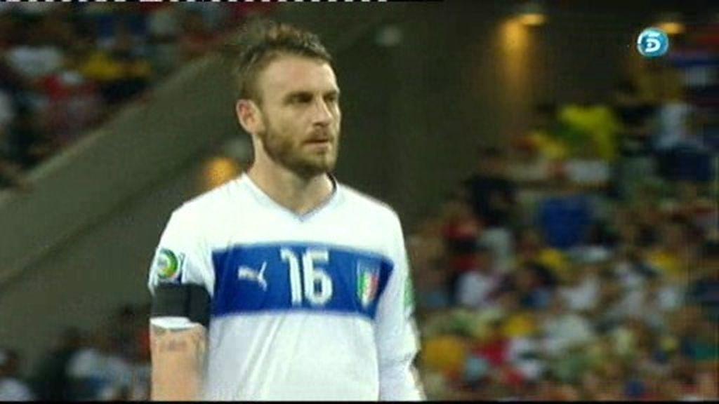 España 2-3 Italia (penalti de De Rossi)