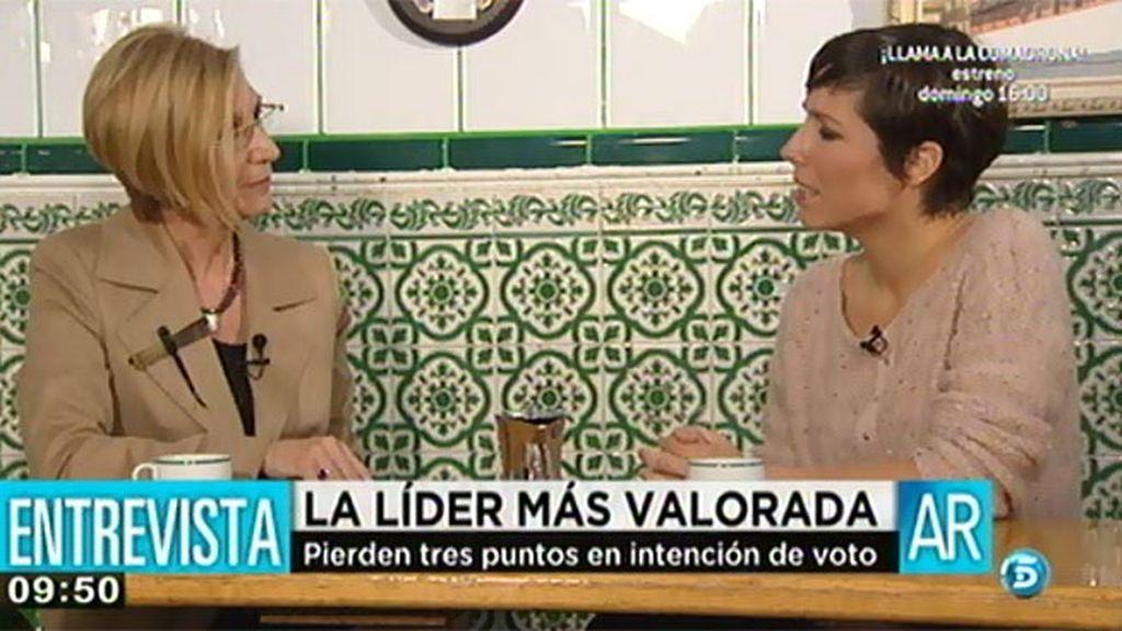 """Rosa Díez, sobre el escándalo Corinna: """"Damos una imagen de país impresentable"""""""