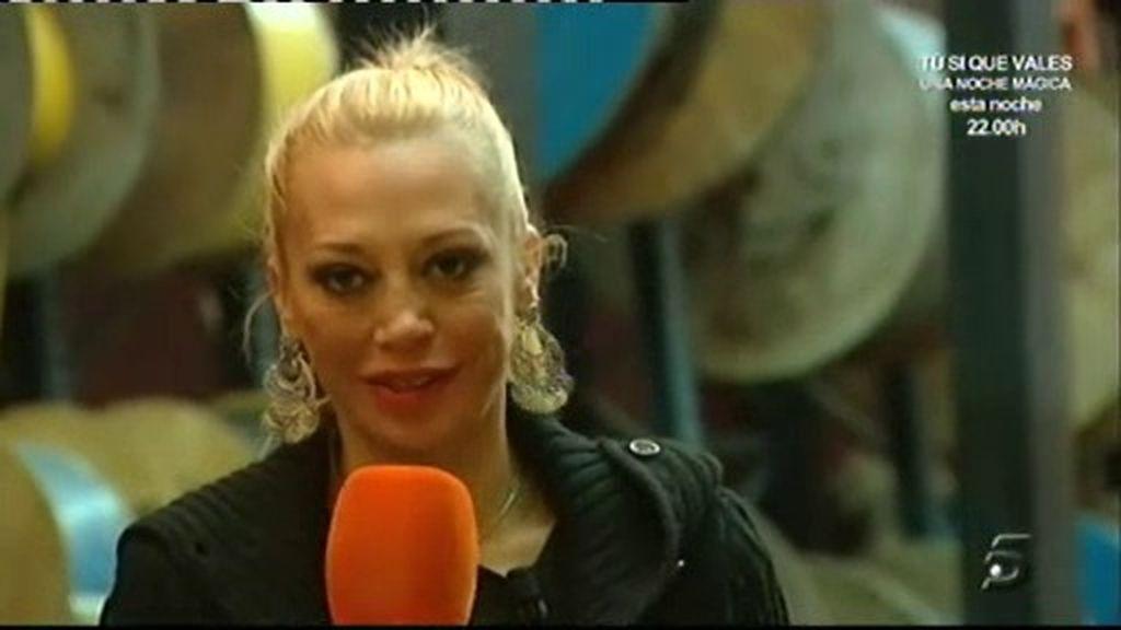 Belén interpreta su canción favorita de 'Mecano'