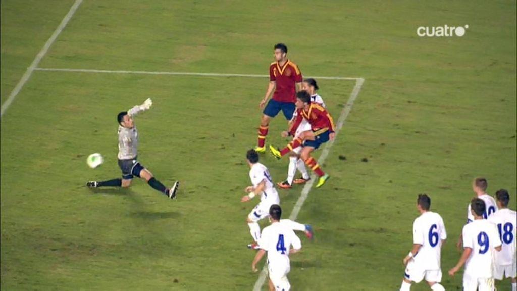 Gol de Sergi Roberto (España 1-1 Bosnia)