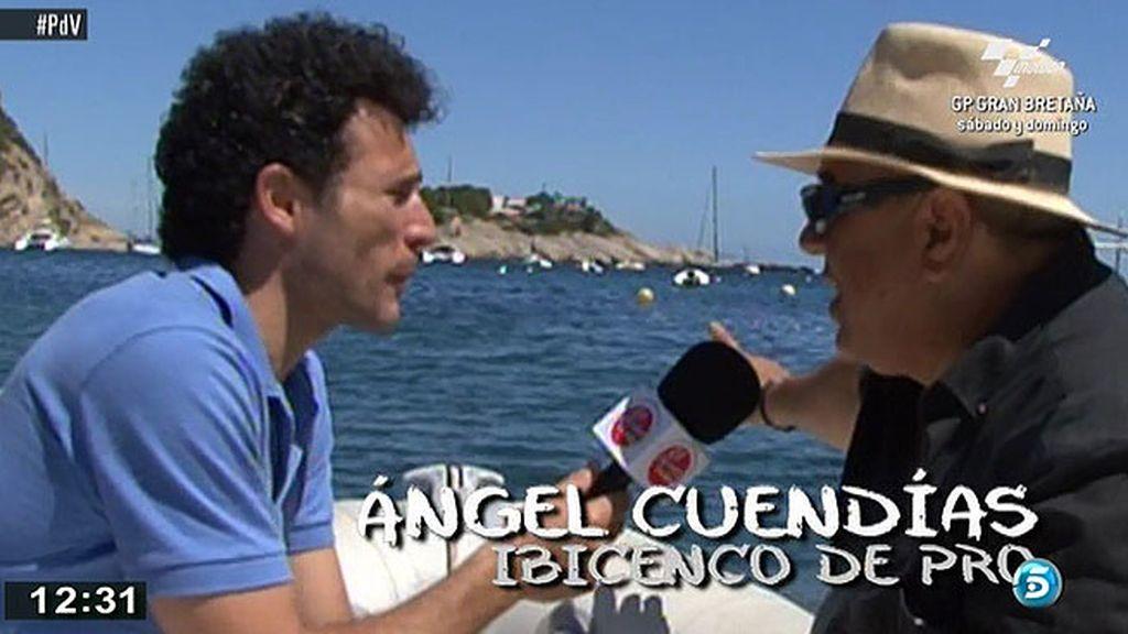 Miguel Rabaneda recorre los rincones más escondidos de Ibiza