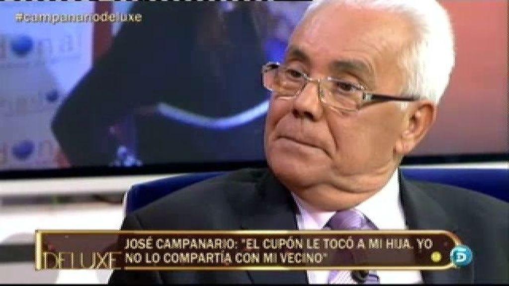 """José Campanario: """"Jesulín estuvo en mi casa dos meses recuperándose del accidente"""""""