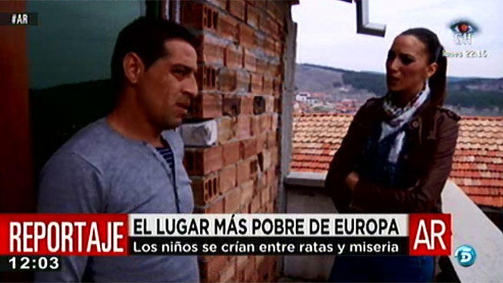 'AR' visita la zona más pobre de Europa