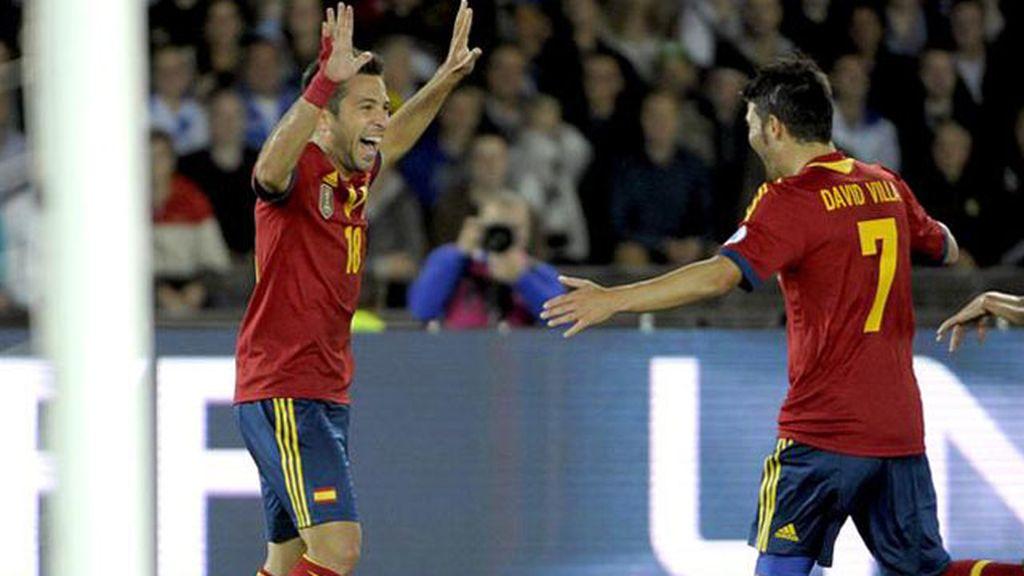 0-1: Así fue el gol de Jordi Alba