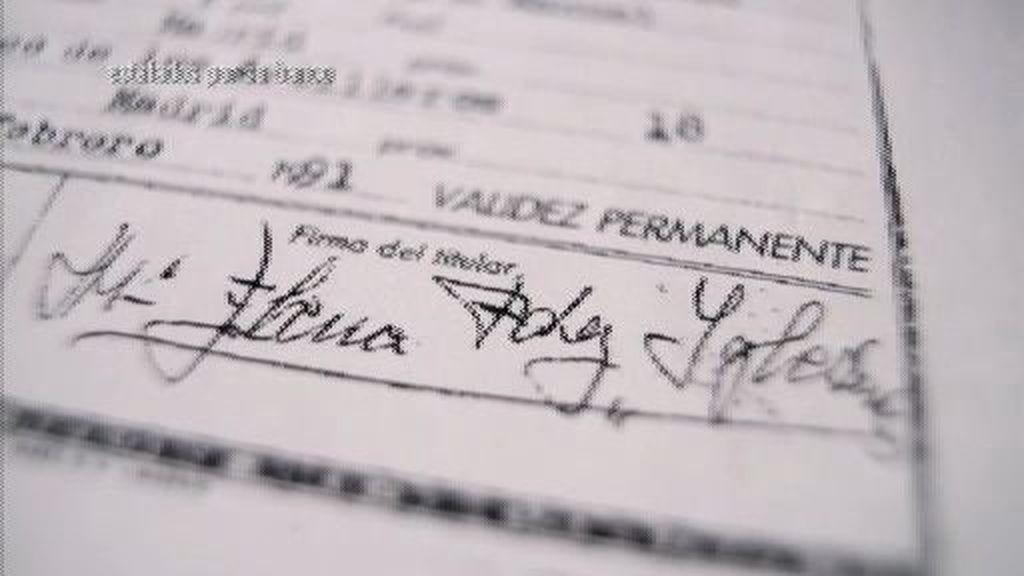 ¿Una firma falsificada por el banco?