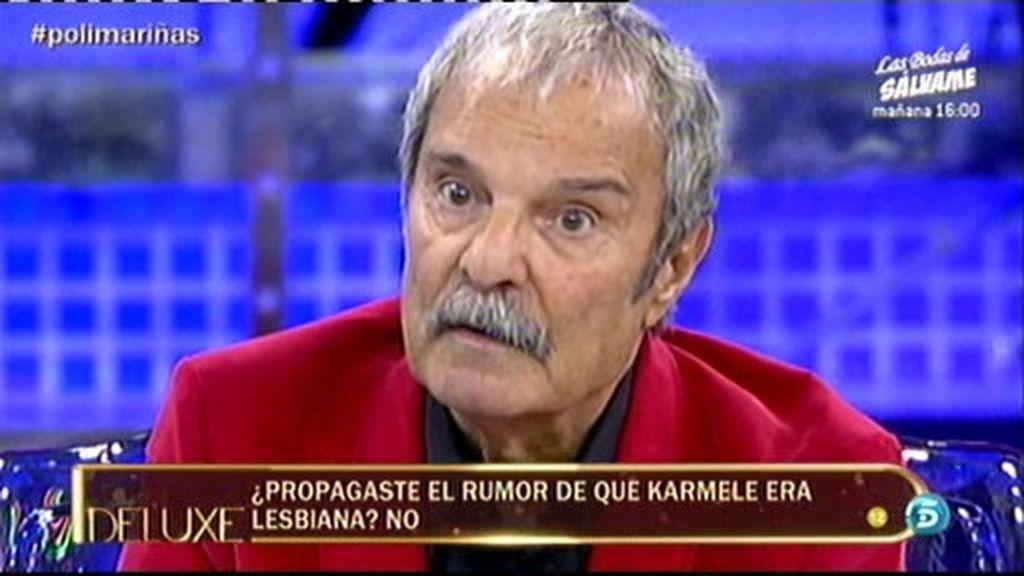 Mariñas no propagó el rumor de que Karmele era lesbiana