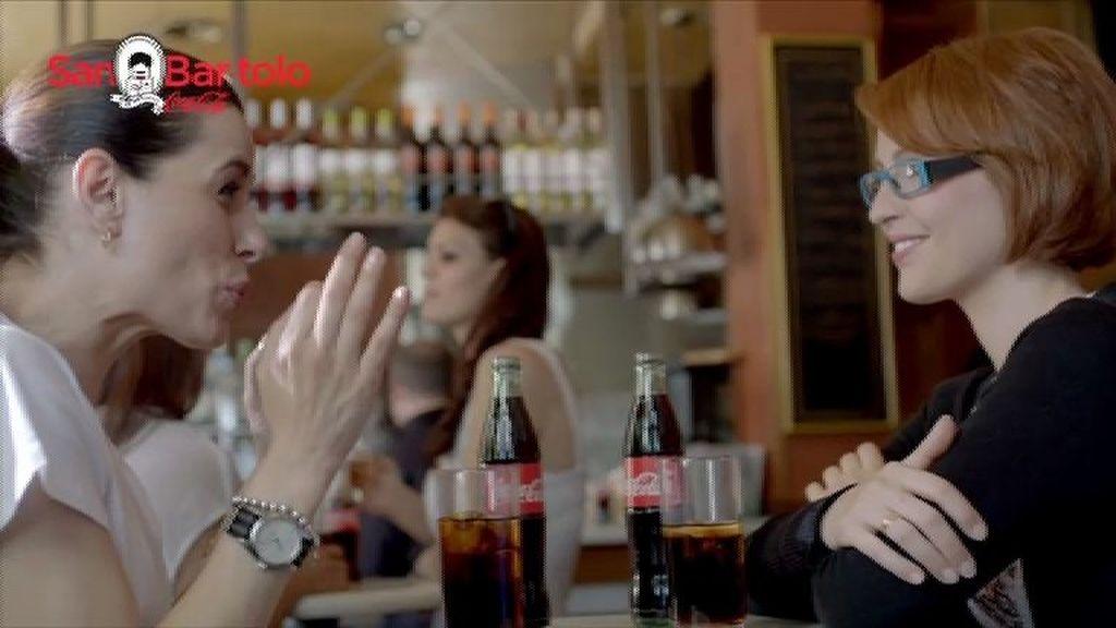 Raquel Sánchez Silva protagoniza la campaña de 'Benditos Bares' de Coca-Cola