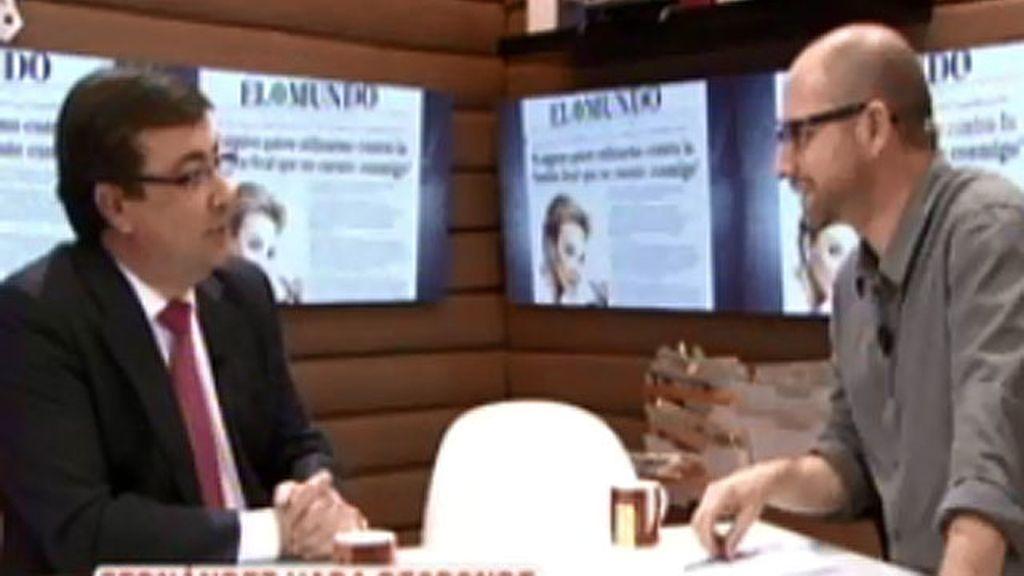 Fernández Vara, en 'Te vas a enterar'