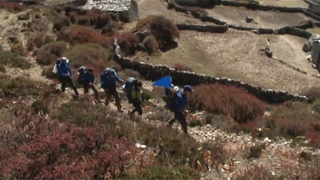 El trekking más duro de toda la expedición