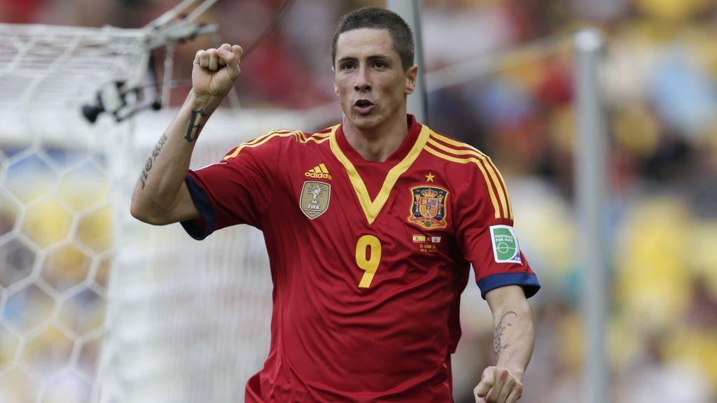 Gol: España 6-0 Tahití (Min.57)